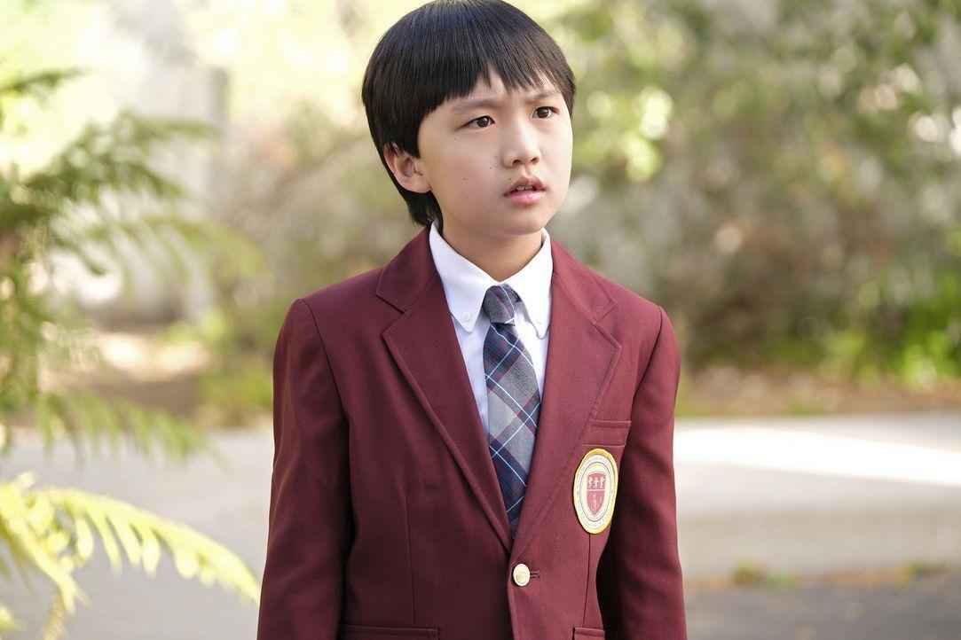 Auch Evan (Ian Chen) ist sich noch unsicher, ob er von den großen Plänen seiner Eltern begeistert ist ... - Bildquelle: 2016-2017 American Broadcasting Companies. All rights reserved.