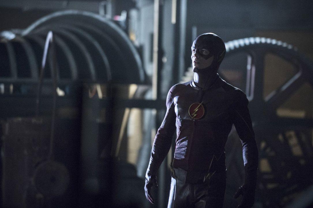 Barry alias The Flash (Grant Gustin) trifft auf einen neuen Meta-Menschen und gerät dadurch in große Gefahr ... - Bildquelle: Warner Brothers.