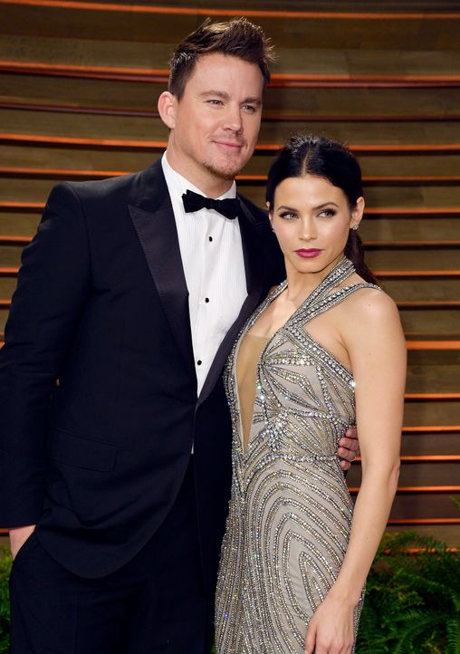 Oscars-Vanity-Fair-Party-Channing-Tatum-Jenna-Dewan-140302-getty-AFP - Bildquelle: getty-AFP