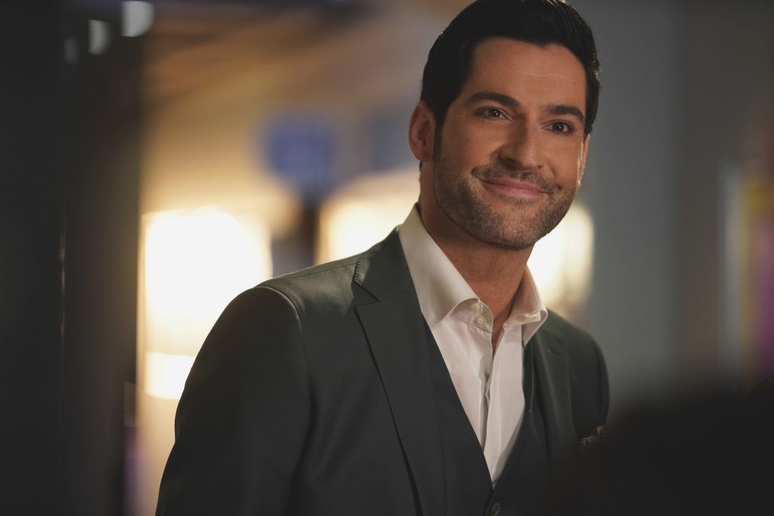 Lucifer (Tom Ellis) - Bildquelle: Erik Voake 2017 Fox Broadcasting Co.