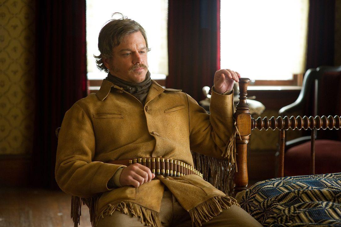 Für Mattie steht es außer Frage, dass sie Tom Chaney für den Mord an ihrem Vater hängen sehen möchte. Texas Ranger LaBoeuf (Matt Damon) hingege... - Bildquelle: (2010) PARAMOUNT PICTURES. All rights reserved.