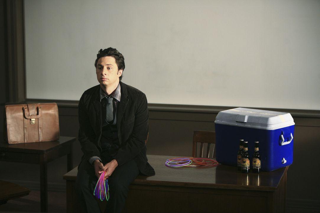 Ist eifersüchtig auf Drew da der Cox' Lieblingsstudent ist: J.D. (Zach Braff) ... - Bildquelle: Touchstone Television