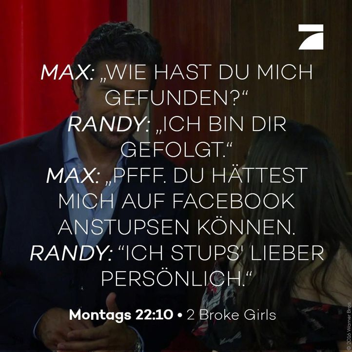 Randy und Max Staffel 6 Episode 22 - Bildquelle: Warner Bros. Television