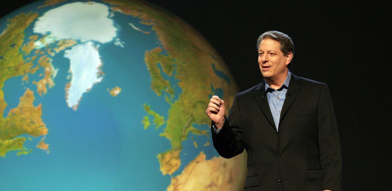 Al Gore sorgt mit der oscarprämierten Dokumentation über die Klimakatastrophe weltweit für Furore ... - Bildquelle: PARAMOUNT CLASSICS A DIVISION OF PARAMOUNT PICTURES. ALL RIGHTS RESERVED.