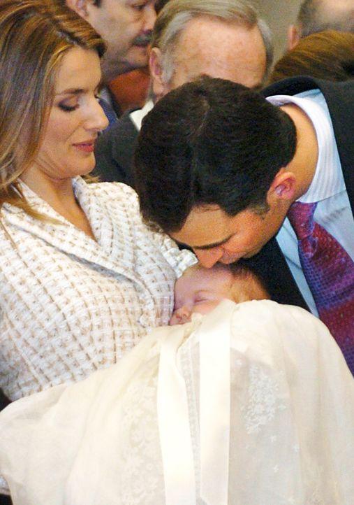 Taufe-Prinzessin-Leonor-von-Spanien-06-01-14-02-AFP - Bildquelle: AFP