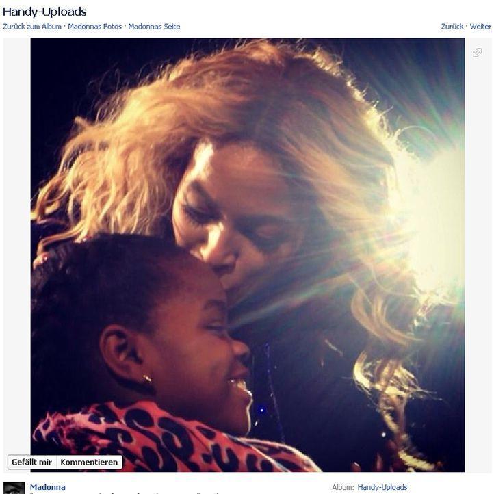 Queen Bussi - Bildquelle: Facebook/Madonna
