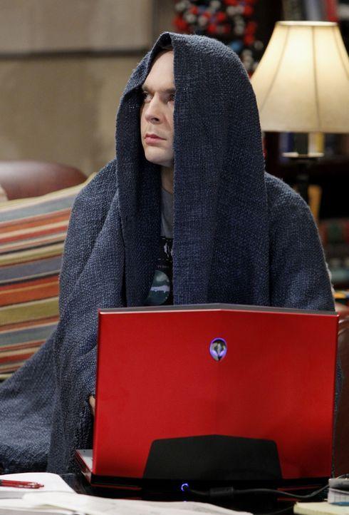 Befindet sich in einer Krise: Sheldon (Jim Parsons) ... - Bildquelle: Warner Bros. Television
