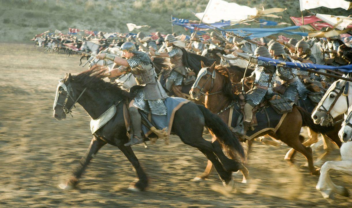 Der Untergang des ägyptischen Heeres im Roten Meer wird besiegelt ... - Bildquelle: 2014 Twentieth Century Fox Film Corporation. All rights reserved.