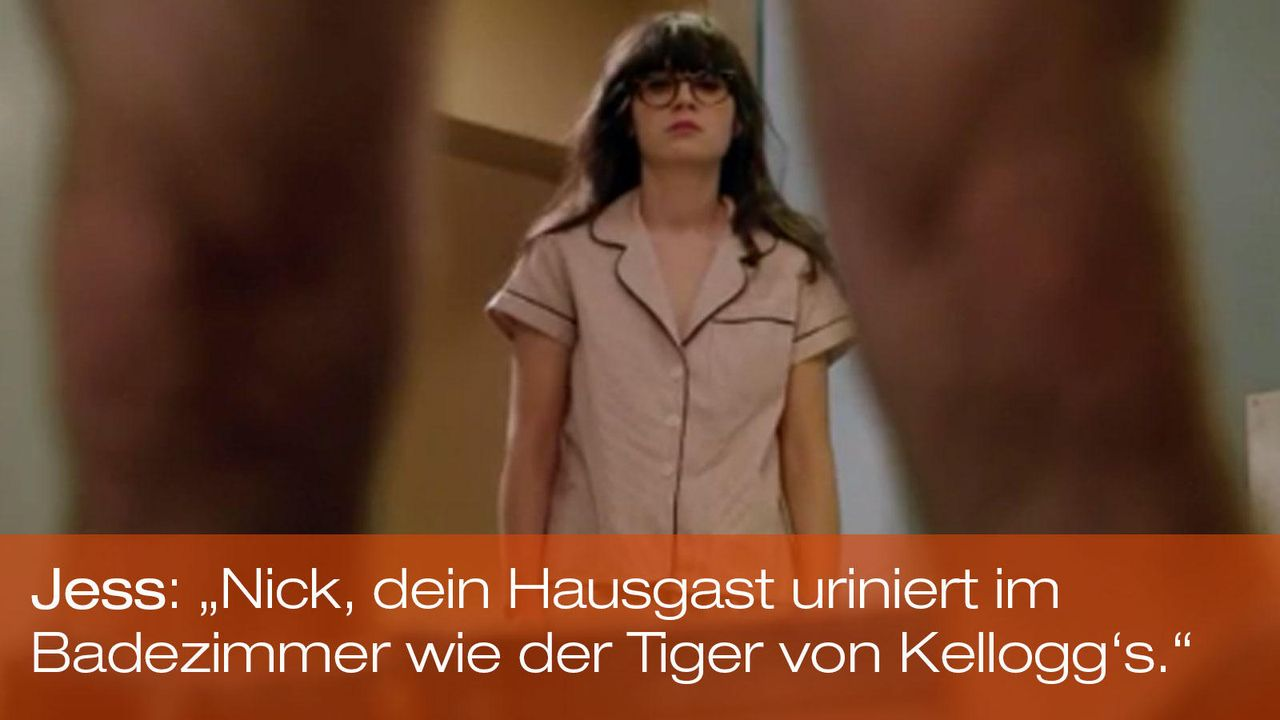 new-girl-zitate-folge-18-jess-zooey-deschanel 1600 x 900 - Bildquelle: 20th Century Fox