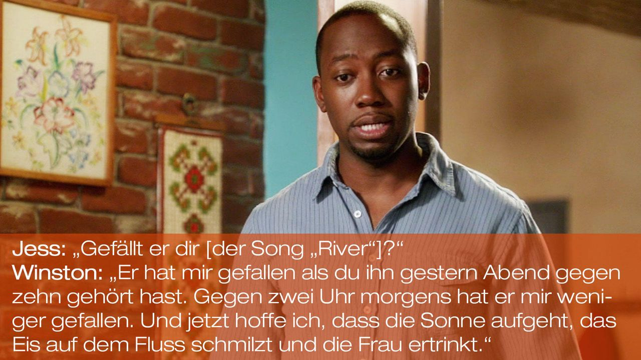 New Girl - Zitate - Staffel 1 Folge 23: 02 - Winston (Lamorne Morris) - Bildquelle: 20th Century Fox