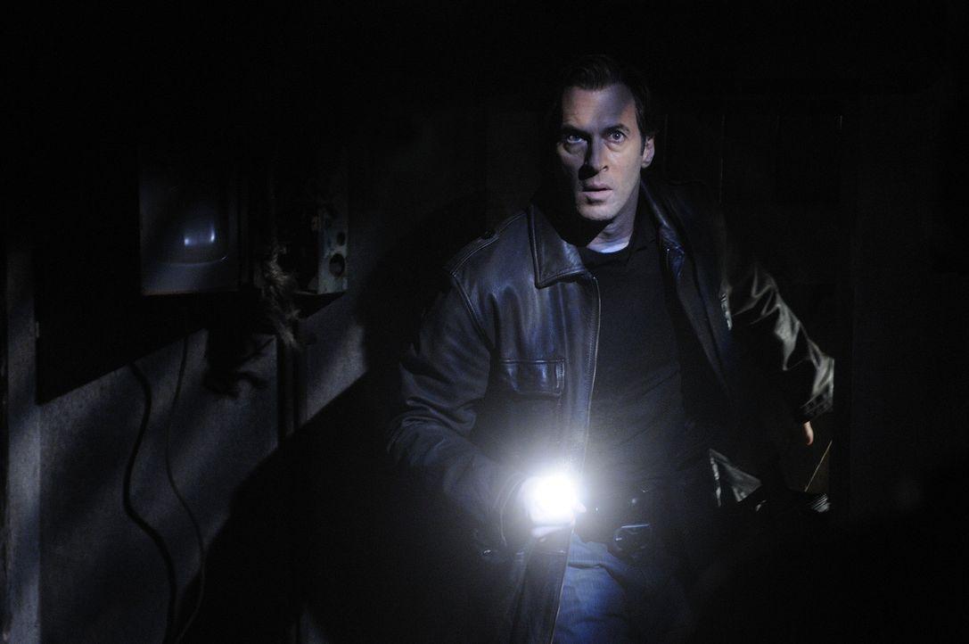 Nachdem FBI- Agent Strahm (Scott Patterson) einer grausamen Falle des Jigsaws schwerverletzt entkommen konnte, wird ihm der Fall entzogen. Aber der... - Bildquelle: 2007 Lionsgate, Twisted Pictures
