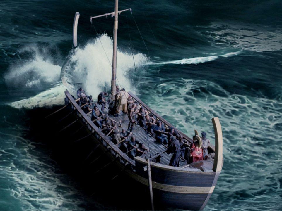 Viele Jahre bereist Hercules die Weltmeere, um die 12 Herausforderungen zu bestehen ... - Bildquelle: Ken George Hallmark Entertainment