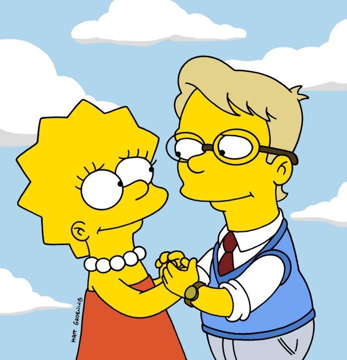 Lisa (l.) hat sich in einen ihrer Mitschüler verliebt. - Bildquelle: TM +   2000 Twentieth Century Fox Film Corporation. All Rights Reserved