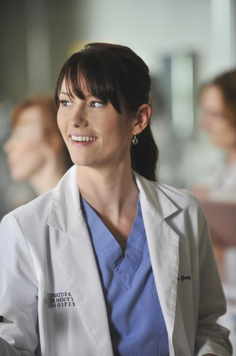 Muss mit Marks neuer Freundin Julia bei einer Augenoperation zusammenarbeiten: Lexie (Chyler Leigh) ... - Bildquelle: ABC Studios
