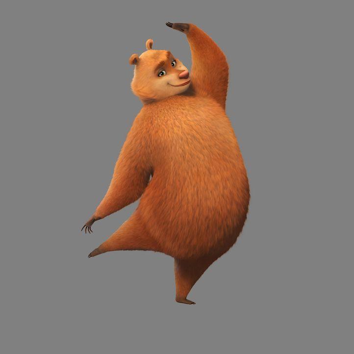 Der Zirkusbär Doug kennt sich mit Täuschungen aus und nutzt die Gutgläubigkeit des liebenswerten Boog aus, um endlich in Freiheit leben zu können ..... - Bildquelle: 2010 Sony Pictures Animation Inc. All Rights Reserved.