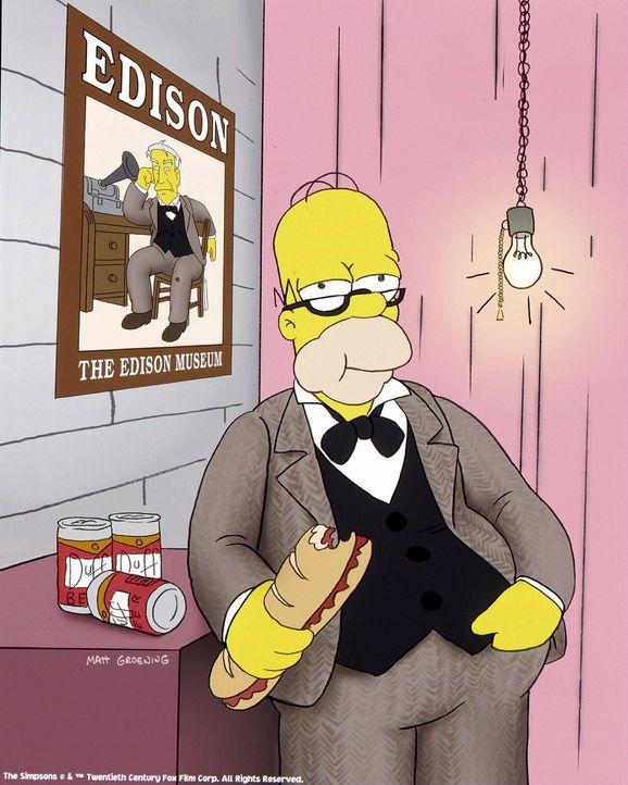 (16. Staffel) - Ziemlich seriös: Homer Simpson ... - Bildquelle: und TM Twentieth Century Fox Film Corporation - Alle Rechte vorbehalten
