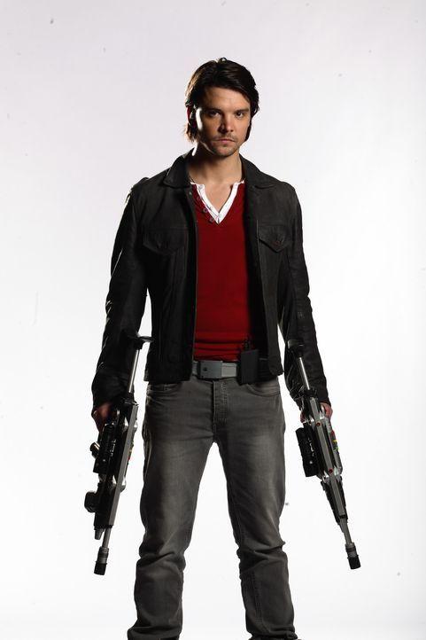 (4. Staffel) - Connor Temple (Andrew Lee Potts) nimmt mutig den Kampf mit den Killern aus den unterschiedlichsten Erdzeitaltern auf ... - Bildquelle: ITV Plc
