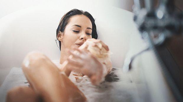 Bad ohne Mikroplastik