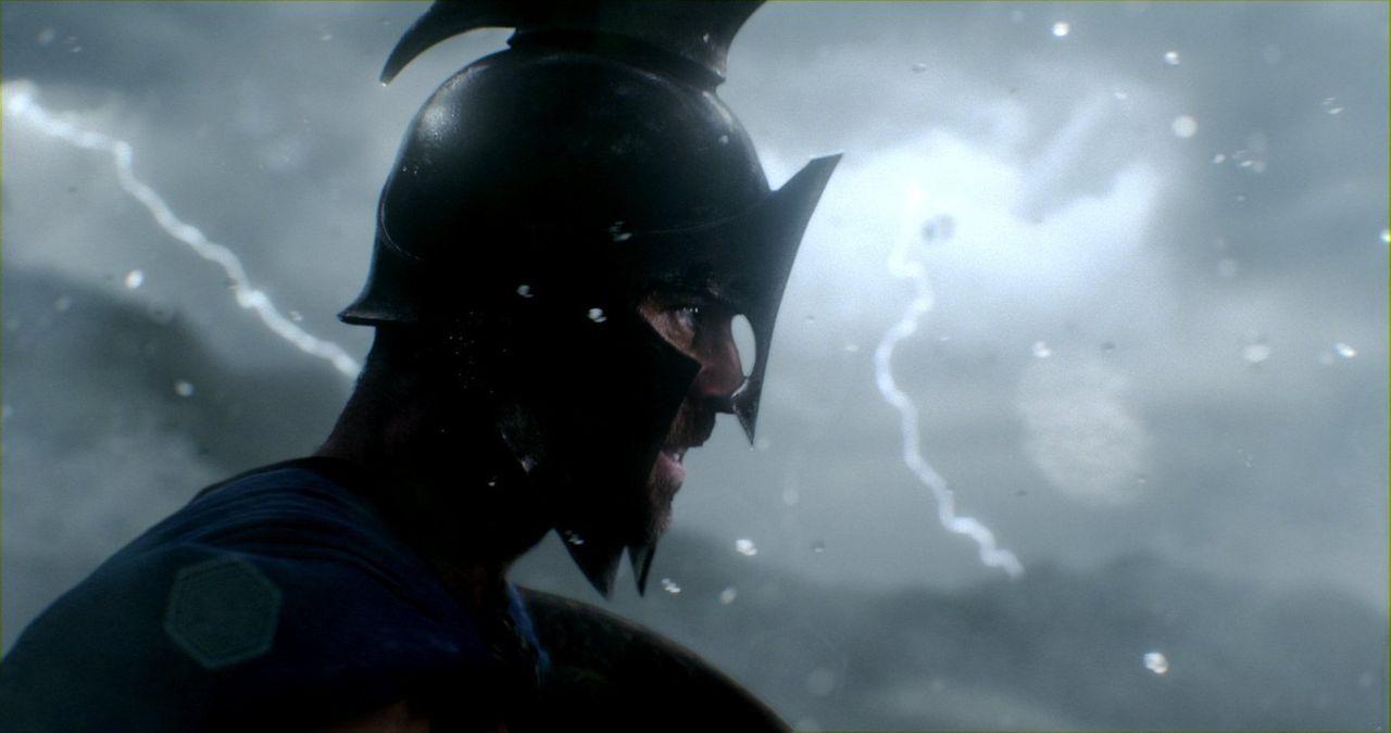General Themistokles (Sullivan Stapleton) ist bereits der erste Schlag gegen die Perser gelungen, als er deren König, Daeios, tötet. Doch nun hat de... - Bildquelle: 2014 Warner Bros. Entertainment, Inc.