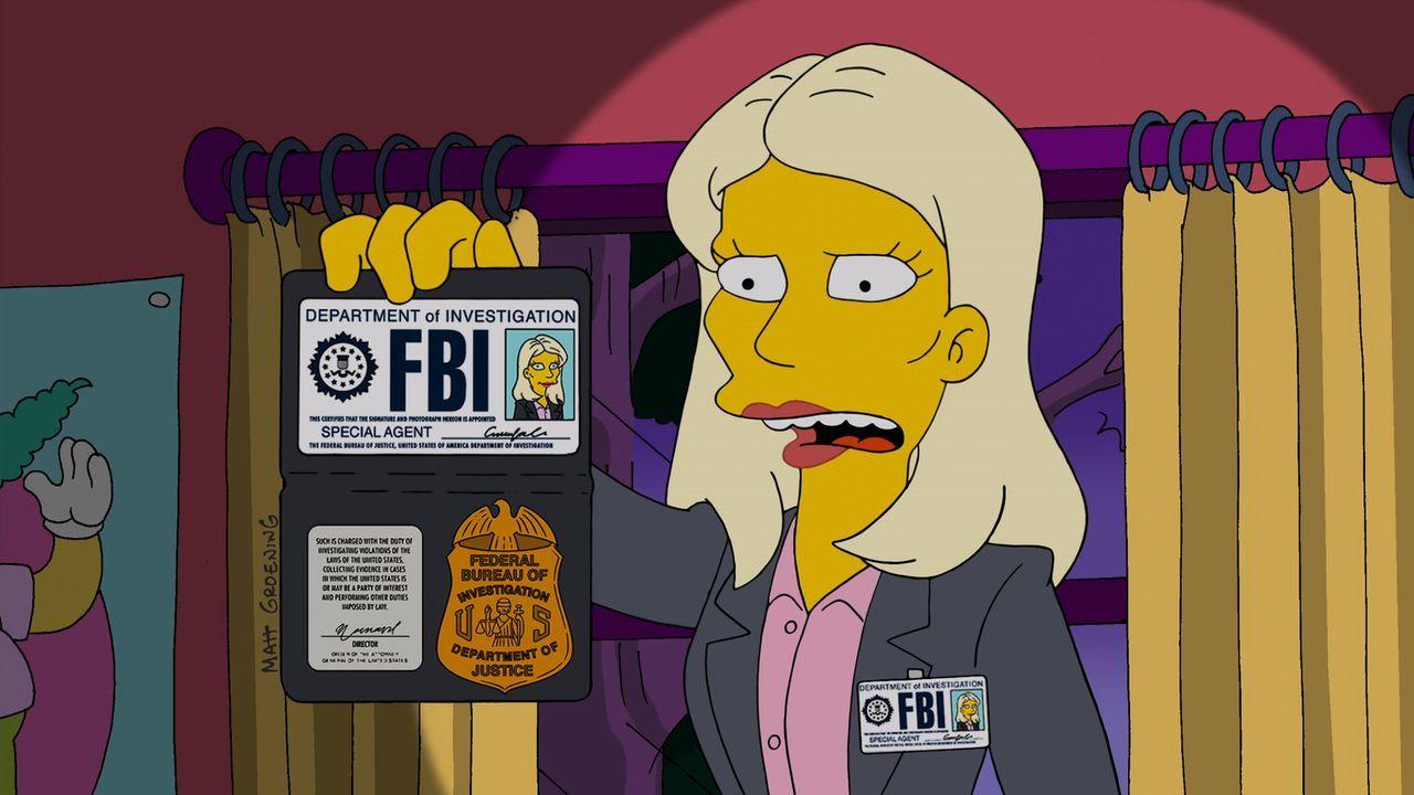 Möchte wissen, was mit Homer geschehen ist: Annie Crawford vom FBI ... - Bildquelle: 2014 Twentieth Century Fox Film Corporation. All rights reserved.
