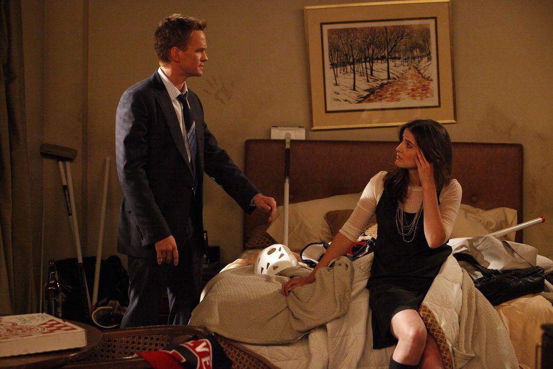 Während Ted und Marshall einen Road-Trip planen, haben Robin (Cobie Smulders, r.) und Barney (Neil Patrick Harris, l.) ein wirkliches Problem ... - Bildquelle: 20th Century Fox International Television
