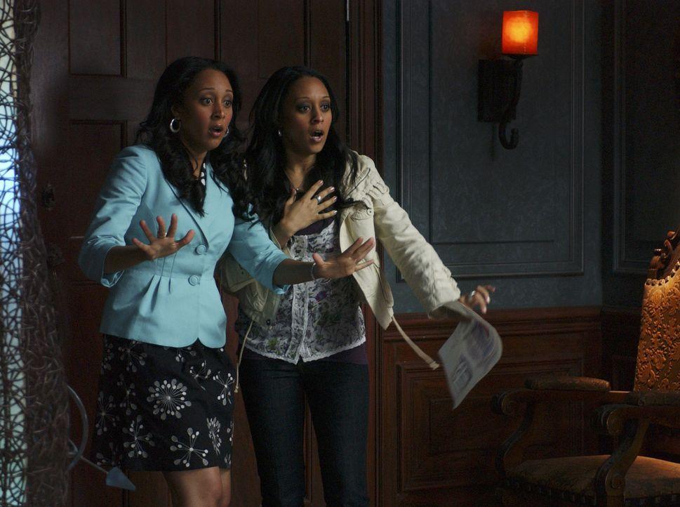 Wundern sich immer wieder über ihre eigenen Hexkünste: Camryn (Tamera Mowry, l.) und Alex (Tia Mowry, r.) ... - Bildquelle: Disney - ABC - ESPN Television