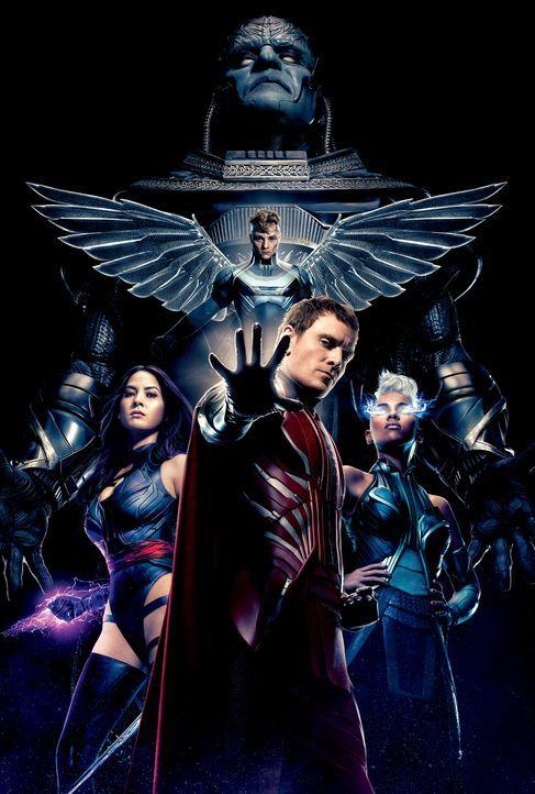 X-Men Apocalypse -Artwork - Bildquelle: 2016 Twentieth Century Fox Film Corporation.  All rights reserved.  MARVEL TM &   2016 MARVEL & Subs.