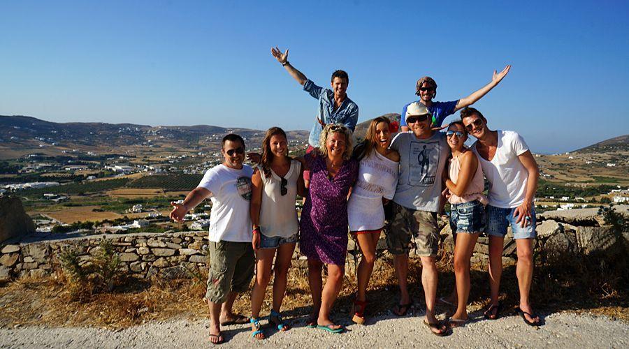 Team-Foto aus Griechenland