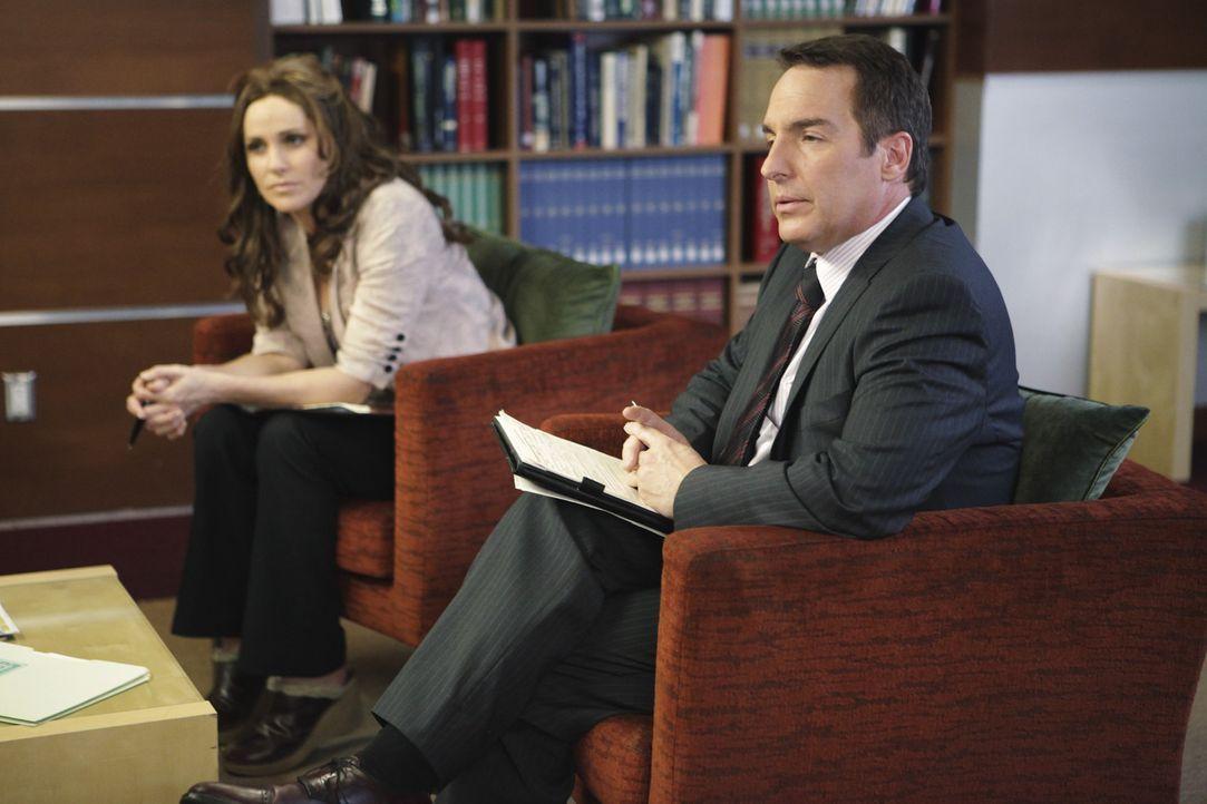 Haben es mit ganz besonderen Patienten zu tun: Sheldon (Brian Benben, r.) und Violet (Amy Brenneman, l.) ... - Bildquelle: ABC Studios