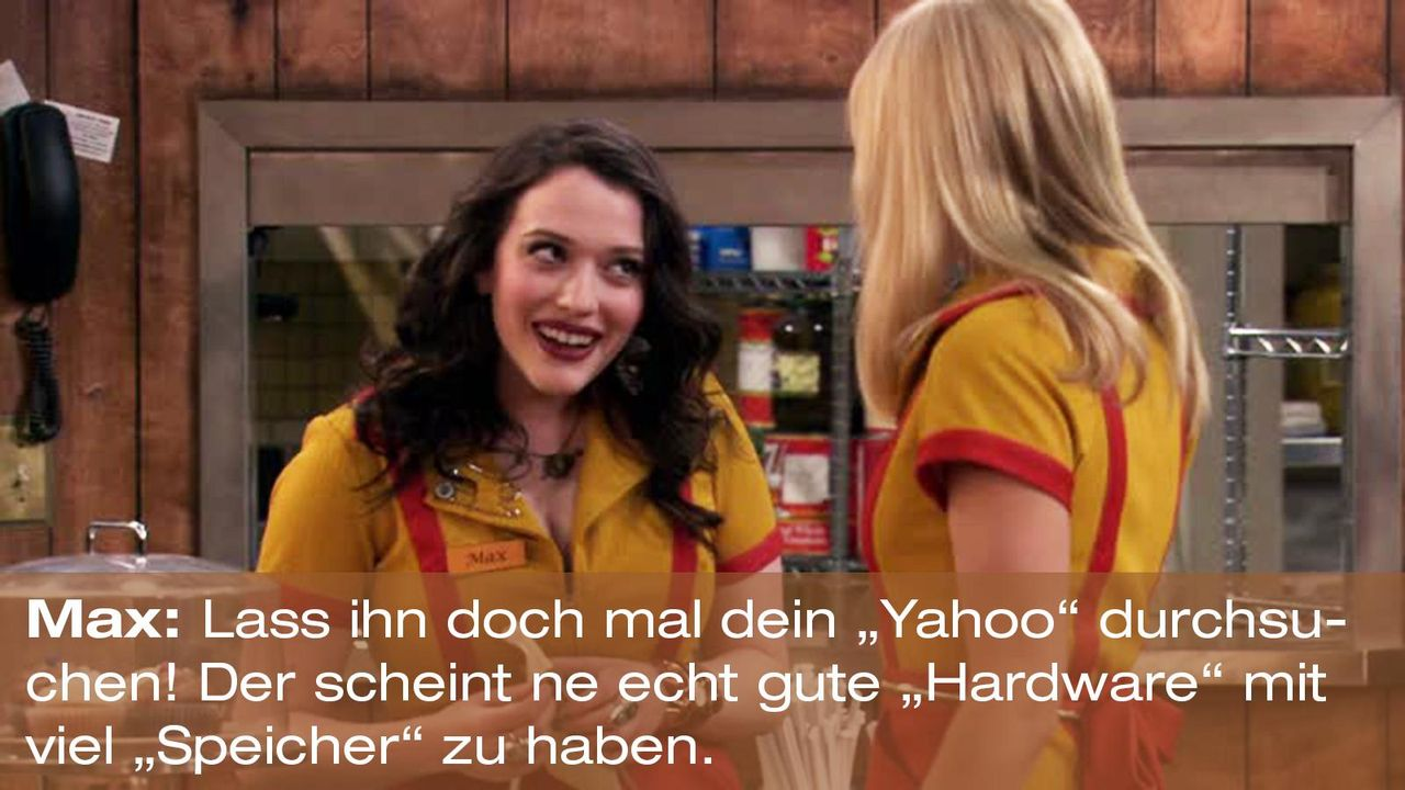 2-broke-girls-zitat-staffel1-episode-18-one-night-stands-max-yahoo-warnerpng 1600 x 900 - Bildquelle: Warner Brothers Entertainment Inc.