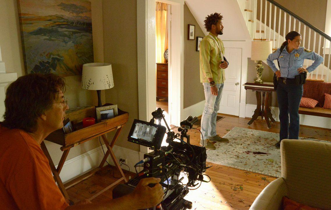 Under The Dome - Behind The Scenes - Bild vom Set der Serie19 - Bildquelle: CBS Television