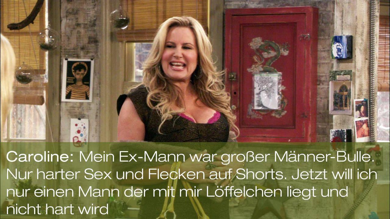 zitat-quote-spruch-2-broke-girls-episode-17-ehrenjuedin-sophie-maenner-bulle-warnerpng 1600 x 900 - Bildquelle: Warner Brothers Entertainment Inc.