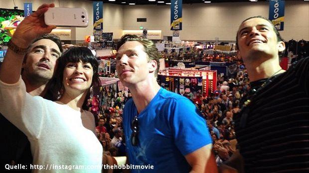 Benedict-Cumberbatch-instagram-com-thehobbitmovie - Bildquelle: instagram.com/thehobbitmovie