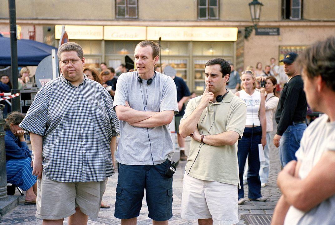 Die Macher von EuroTrip: v.l.n.r.: David Mandel, Alec Berg und Jeff Schaffer - Bildquelle: DreamWorks Distribution LLC