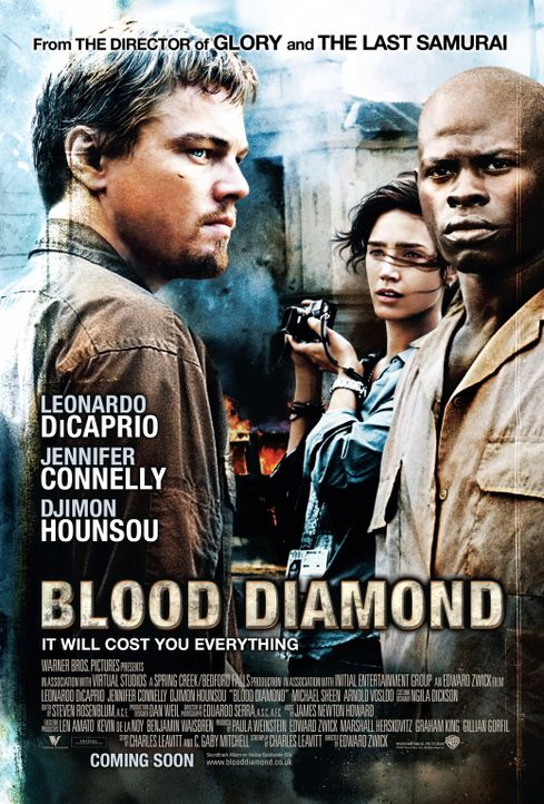 BLOOD DIAMOND - Plakatmotiv - Bildquelle: Warner Bros.