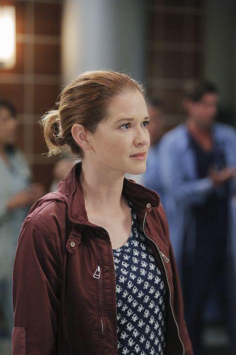 Während April (Sarah Drew) den Fall eines Jungen aus dem Mittleren Osten ins Krankenhaus bringt, hat Webber Schwierigkeiten seine Beziehung mit Magg... - Bildquelle: Tony Rivetti ABC Studios