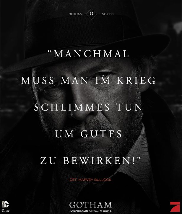 Gotham_Voices_Stimmen_der_Stadt_Zitate_Sprueche_Serie (14) - Bildquelle: DC Comics / Warner Bros. Entertainment, Inc.