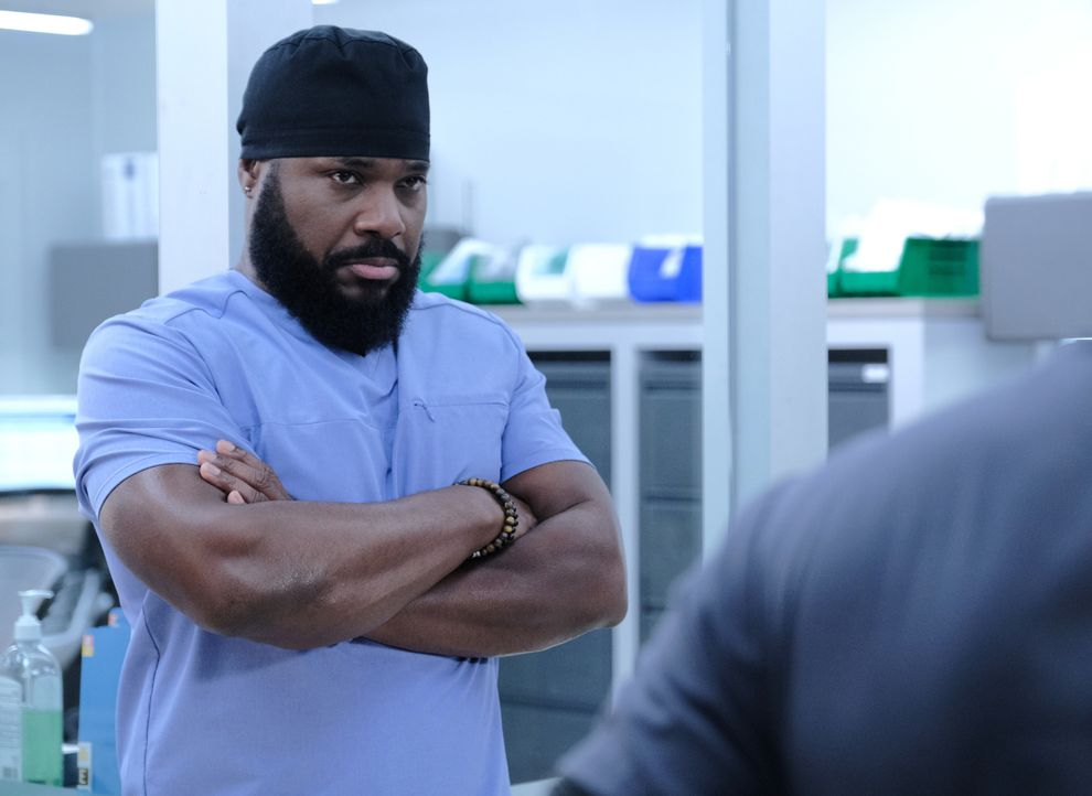 AJ Austin (Malcolm-Jamal Warner) - Bildquelle: Guy D'Alema 2019-2020 Twentieth Century Fox Film Corporation.  All rights reserved. / Guy D'Alema