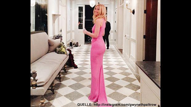 Golden-Globes-gwynethpaltrow-Instagram - Bildquelle: http://instagram.com/gwynethpaltrow