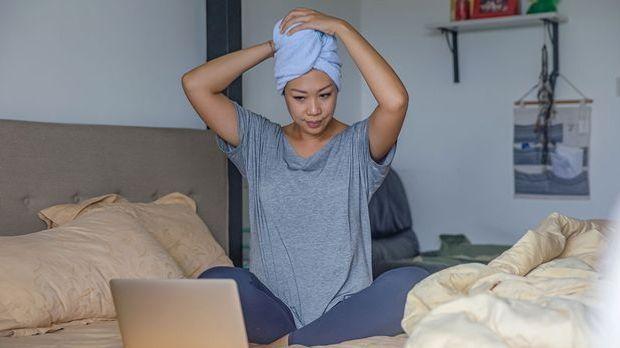 Entspannung! Ja, richtig – wer sich entspannt und Stress vermeidet kann Haara...