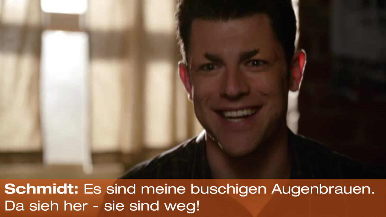 New Girl Zitategallery Staffel 2 3 Schmidt