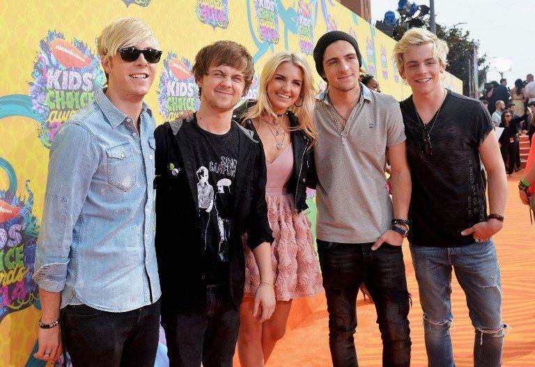 Kids-Choice-Awards-Ross-Lynch-und-R5-14-03-29-getty-AFP - Bildquelle: getty-AFP