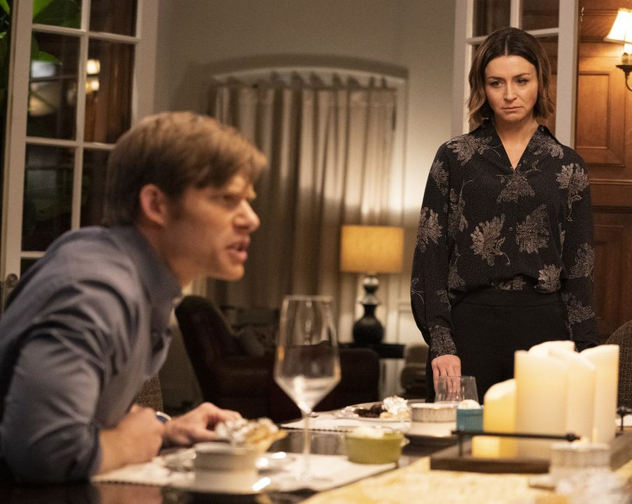 Dr. Atticus Lincoln (Chris Carmack, l.); Dr. Amelia Shepherd (Caterina Scorsone, r.) - Bildquelle: Mitch Haaseth ABC Studios