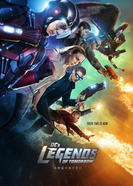 (1. Staffel) -  Legends of Tomorrow - Plakat - Bildquelle: 2015 Warner Bros.