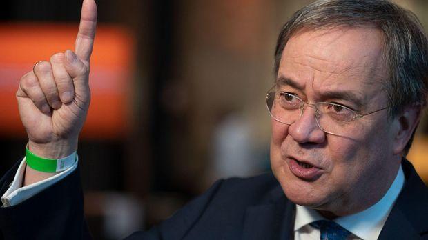 Laschet warnt eindringlich vor rot-rot-grüner Bundesregierung