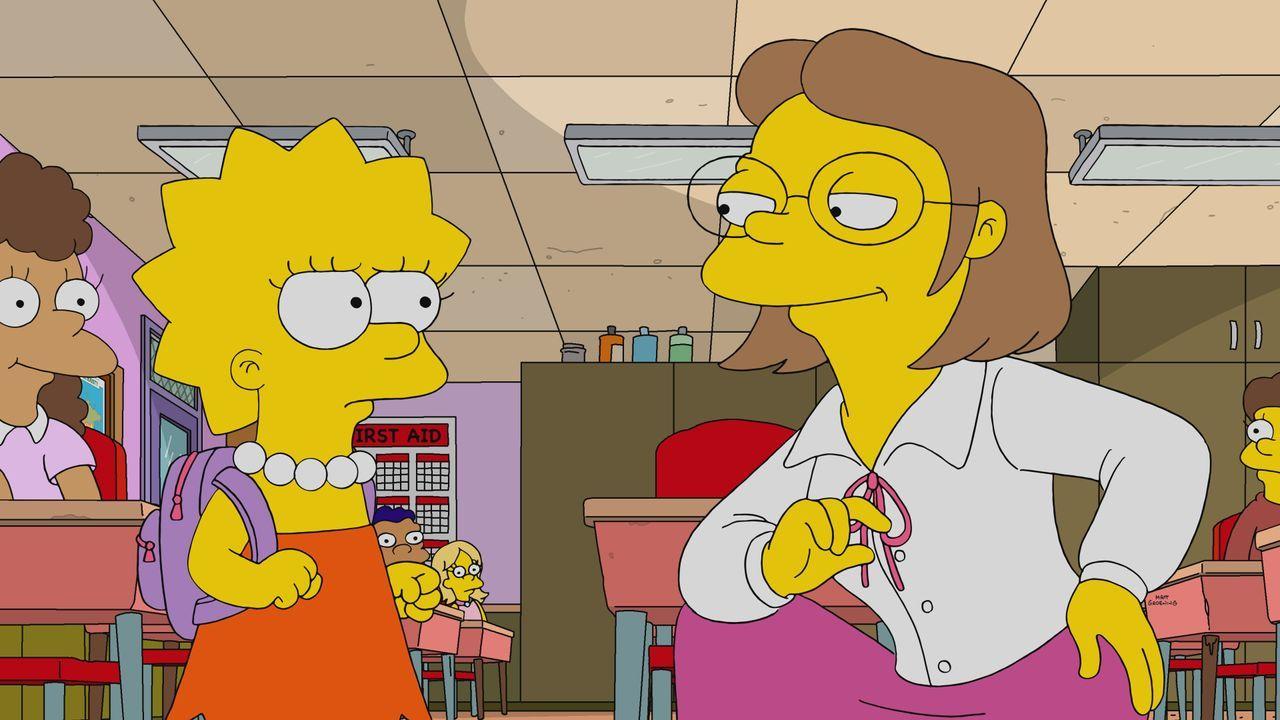 Lisa (l.); Miss Hoover (r.) - Bildquelle: 2020 by Twentieth Century Fox Film Corporation.