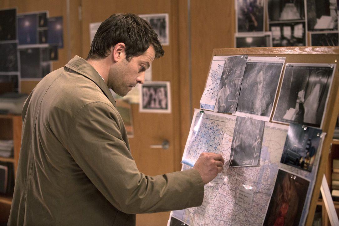 Erkennt Castiel (Misha Collins) zu spät, dass es in seiner Armee einen Spitzel gibt? - Bildquelle: 2013 Warner Brothers