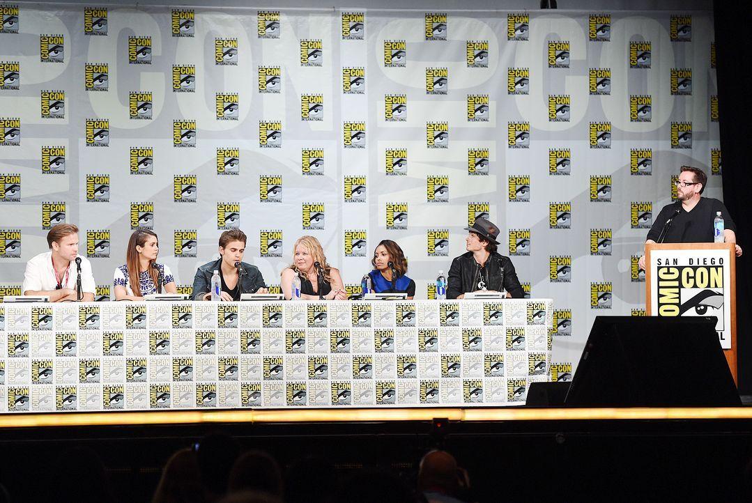 Comic-Con-Vampire-Diaries-14-07-26-AFP - Bildquelle: AFP
