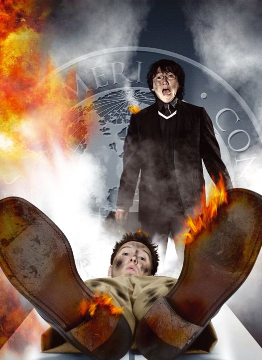 Get Smarter: Bruce und Lloyd völlig durchgeknallt - Plakatmotiv - Bildquelle: Warner Brothers