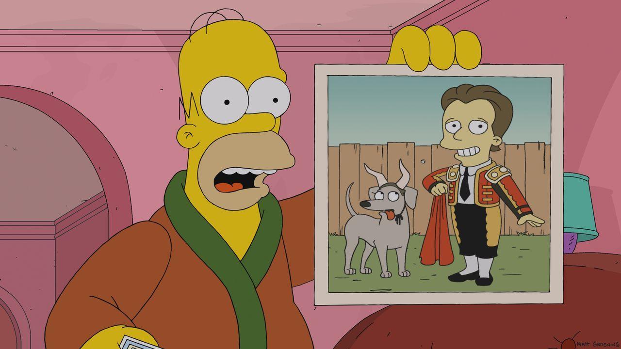 Homer (l.) ist frustriert über die Erkenntnis, dass man nur einmal lebt, und blickt  plötzlich sehr kritisch auf sein Leben. Dabei erzählt er von se... - Bildquelle: 2013 Twentieth Century Fox Film Corporation. All rights reserved.